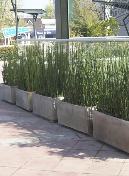 Jardineras maceteros la isla - Jardineras de cemento ...
